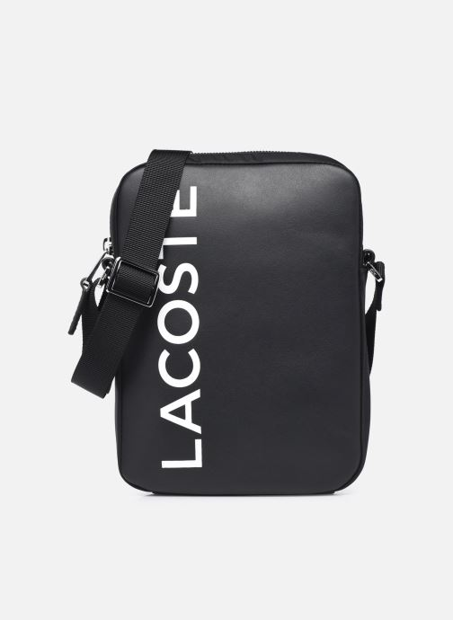 Herrentaschen Lacoste L.12.12 Cuir Animation M Vertical Camera Bag schwarz detaillierte ansicht/modell