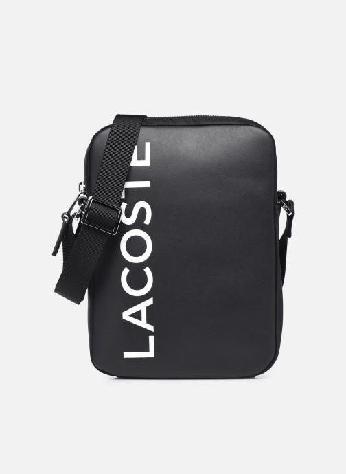 Borse uomo Lacoste L.12.12 Cuir Animation M Vertical Camera Bag Nero vedi dettaglio/paio