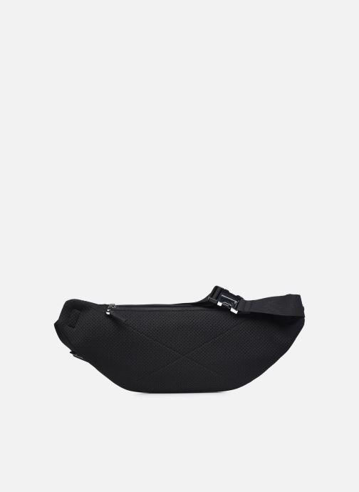 Herrentaschen Lacoste L.12.12 Cuir Animation Waistbag schwarz ansicht von vorne