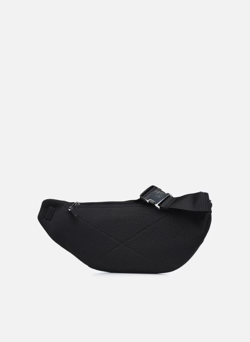 Herrentaschen Lacoste L.12.12 Cuir Animation Waistbag schwarz ansicht von rechts