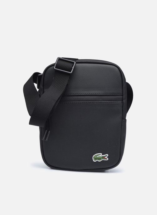 Herrentaschen Lacoste Lcst S Flat Crossover Bag schwarz detaillierte ansicht/modell