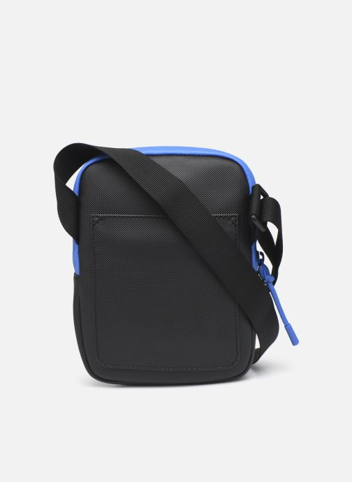 Bolsos de hombre Lacoste Lcst S Flat Crossover Bag Azul vista de frente