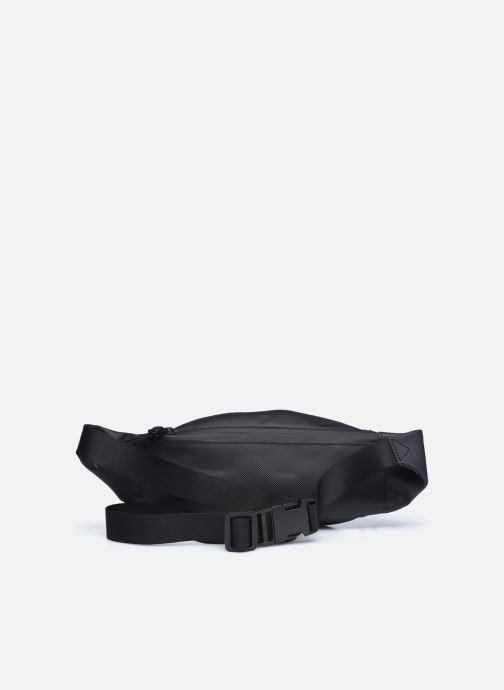 Herrentaschen Lacoste Lcst Waistbag schwarz ansicht von vorne