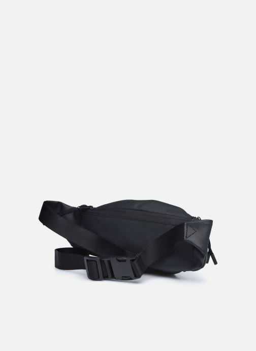 Herrentaschen Lacoste Lcst Waistbag schwarz ansicht von rechts