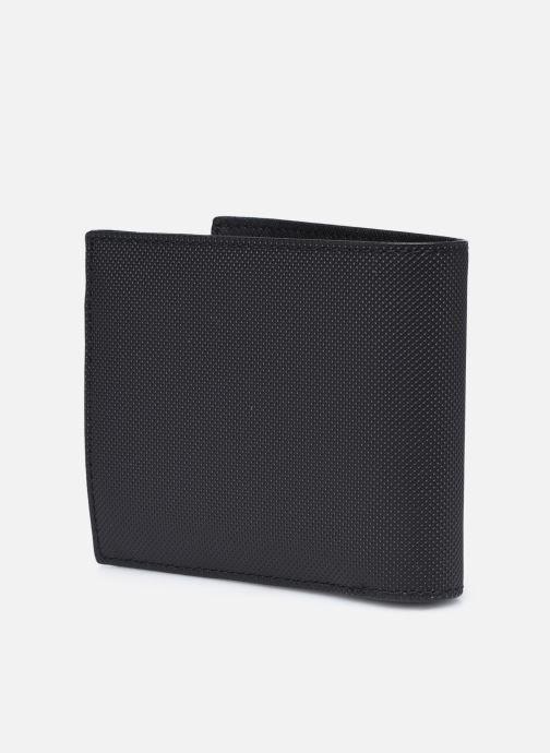 Portemonnaies & Clutches Lacoste Men'S Classic S Billfold Coin schwarz ansicht von rechts
