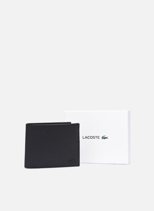 Portemonnaies & Clutches Lacoste Men'S Classic S Billfold Coin schwarz ansicht von unten / tasche getragen