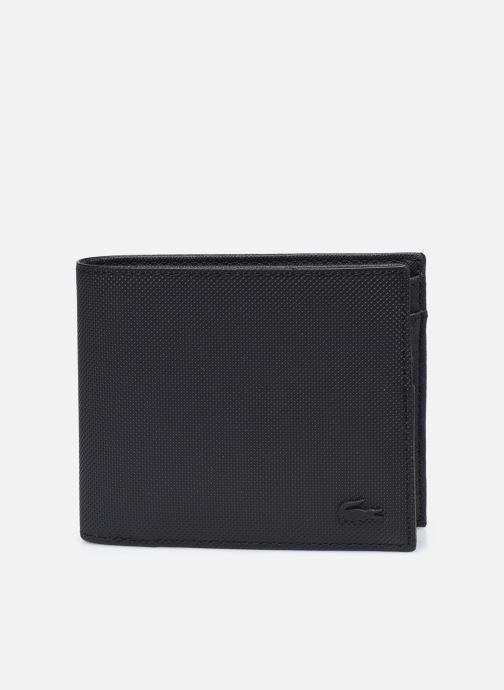 Marroquinería pequeña Lacoste Men'S Classic S Billfold Coin Negro vista de detalle / par
