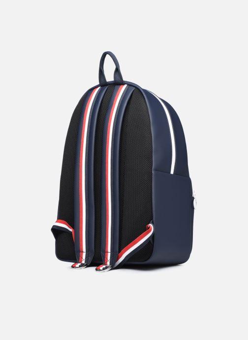 Mochilas Lacoste Men'S Classic Seasonal Backpack Azul vista lateral derecha