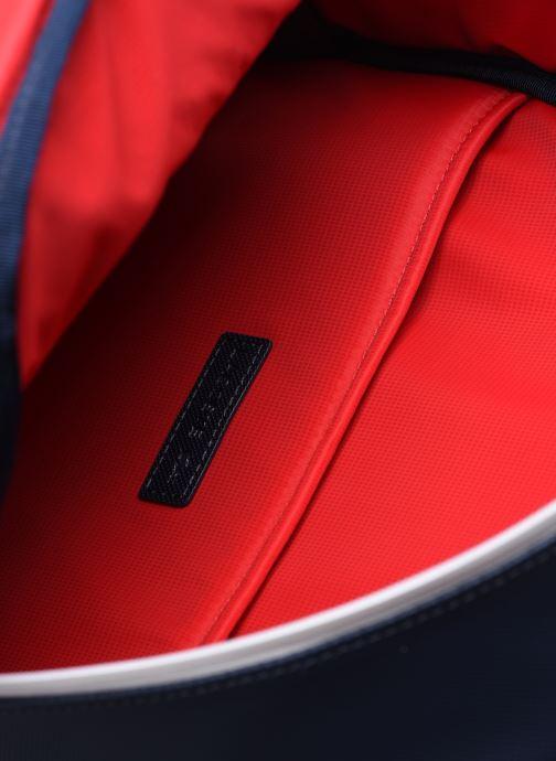Mochilas Lacoste Men'S Classic Seasonal Backpack Azul vistra trasera