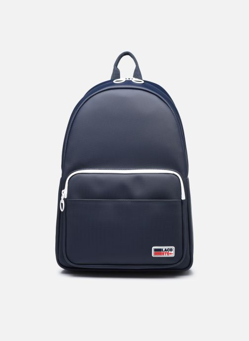 Sacs à dos Lacoste Men'S Classic Seasonal Backpack Bleu vue détail/paire