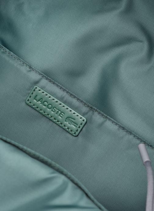 Zaini Lacoste Neocroc Seasonal Backpack Grigio immagine posteriore