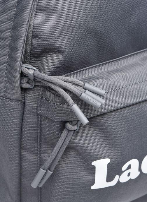 Zaini Lacoste Neocroc Seasonal Backpack Grigio immagine sinistra