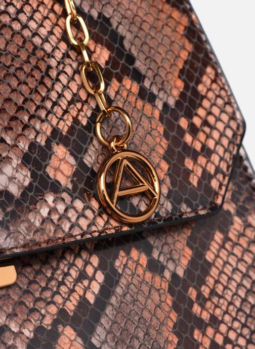 Handtaschen Aldo RAMELLI braun ansicht von links