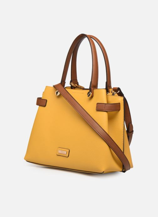 Handtaschen Aldo GLAMM gelb ansicht von rechts