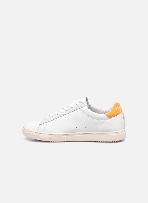Sneakers Clae Bradley California W Bianco immagine frontale