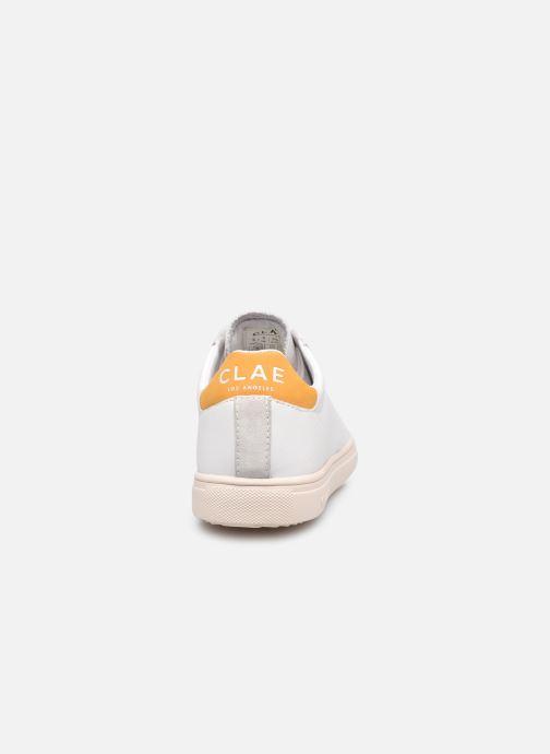 Sneakers Clae Bradley California W Bianco immagine destra