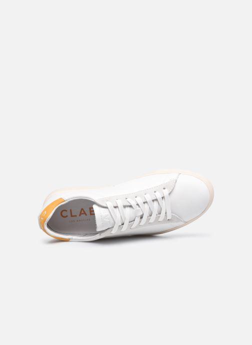 Sneakers Clae Bradley California W Bianco immagine sinistra