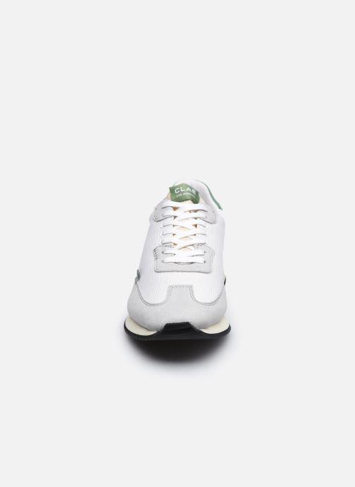Sneaker Clae Runyon W grau schuhe getragen