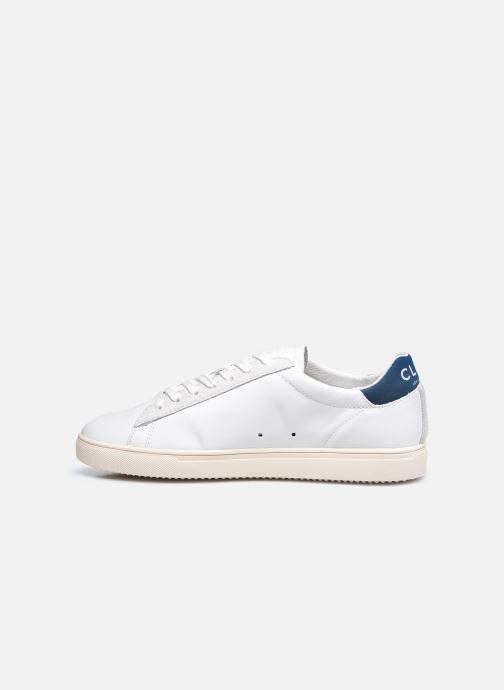 Sneakers Clae Bradley California M Bianco immagine frontale