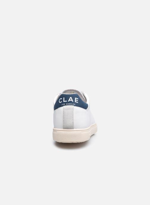Sneakers Clae Bradley California M Bianco immagine destra