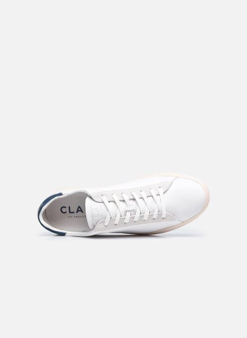 Sneakers Clae Bradley California M Bianco immagine sinistra
