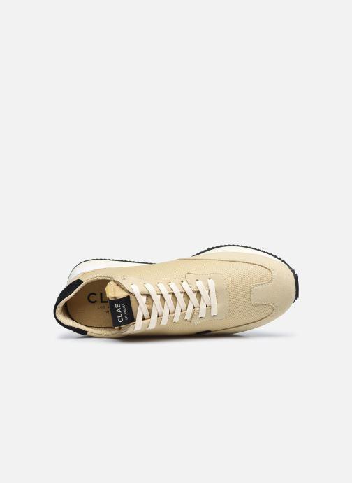 Sneaker Clae Runyon M beige ansicht von links