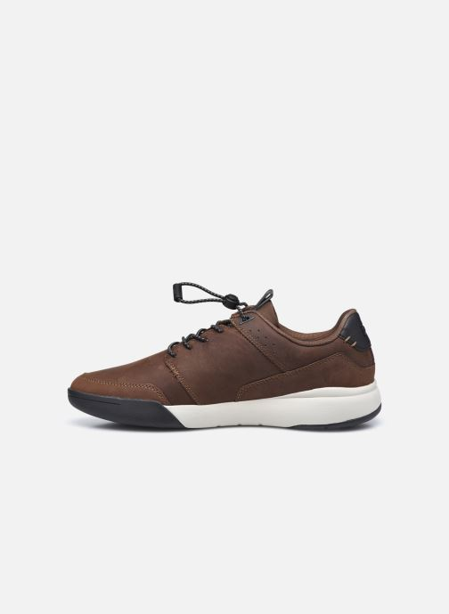 Sneakers TBS Barents Marrone immagine frontale