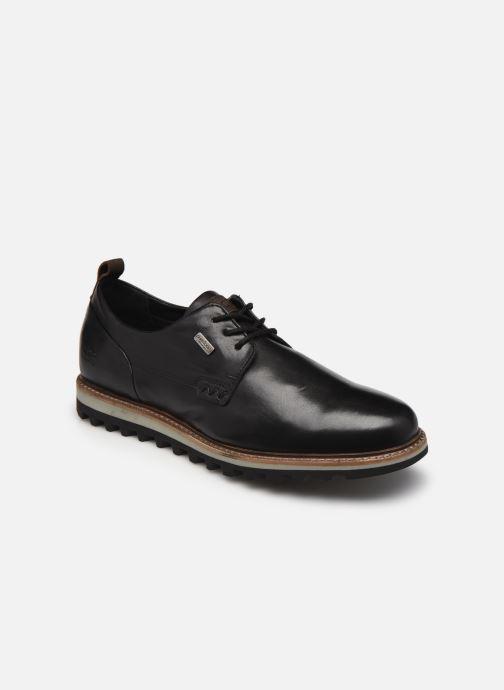 Zapatos con cordones TBS Hastiin Negro vista de detalle / par