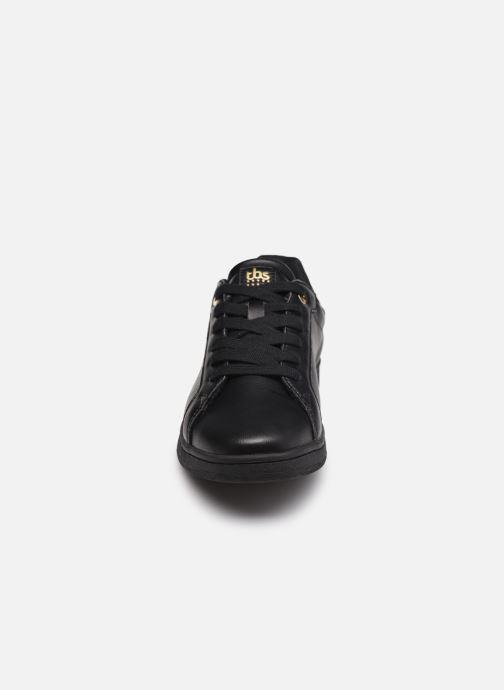 Sneaker TBS Lagatha schwarz schuhe getragen