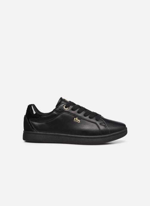 Sneaker TBS Lagatha schwarz ansicht von hinten