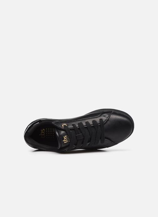 Sneaker TBS Lagatha schwarz ansicht von links