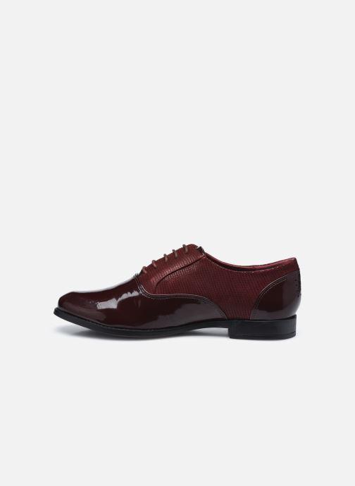 Zapatos con cordones TBS Madelle Vino vista de frente