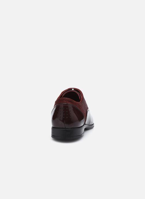 Zapatos con cordones TBS Madelle Vino vista lateral derecha