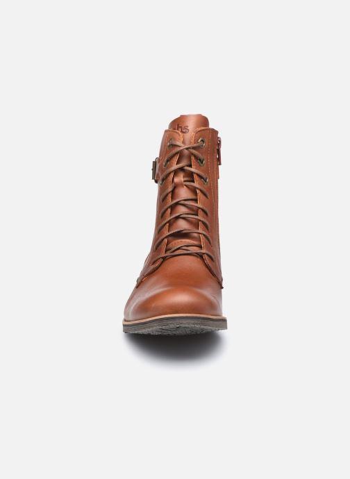 Bottines et boots TBS Madelon Marron vue portées chaussures