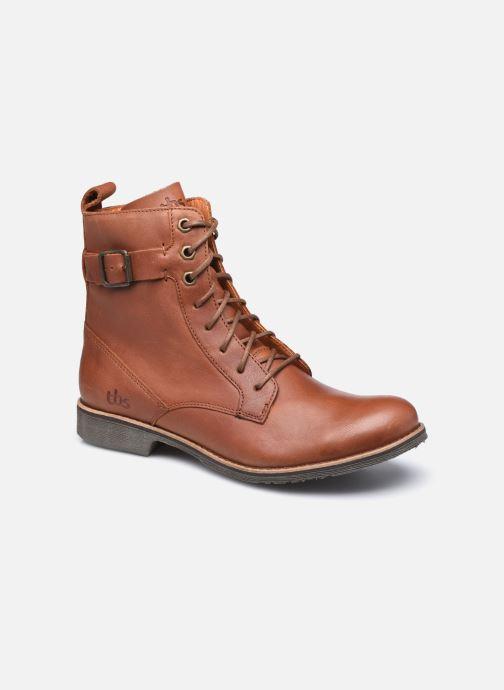 Bottines et boots TBS Madelon Marron vue détail/paire