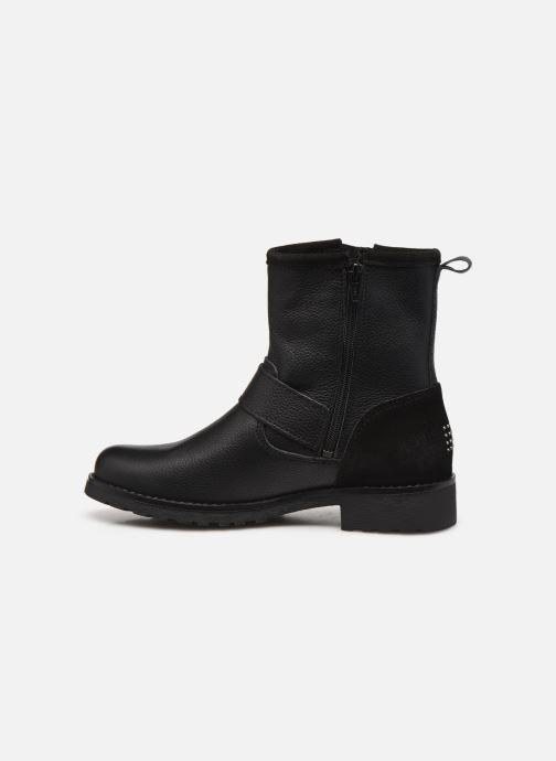 Boots en enkellaarsjes TBS Panella Zwart voorkant
