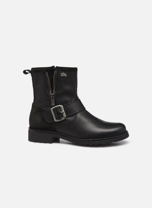 Boots en enkellaarsjes TBS Panella Zwart achterkant