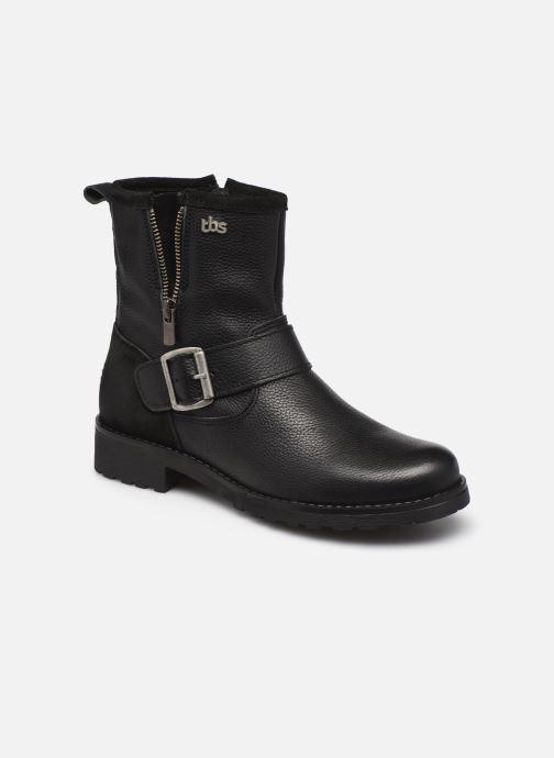 Boots en enkellaarsjes TBS Panella Zwart detail