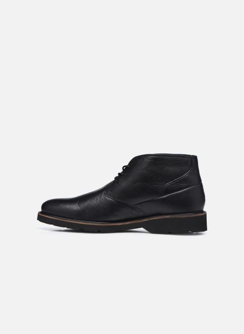 Zapatos con cordones TBS Paxfoam Negro vista de frente