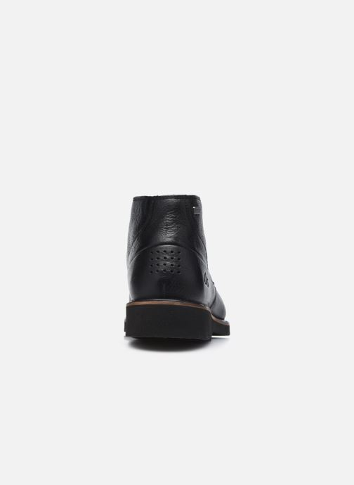 Zapatos con cordones TBS Paxfoam Negro vista lateral derecha