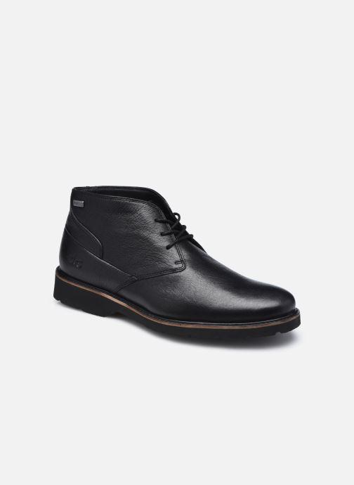 Zapatos con cordones TBS Paxfoam Negro vista de detalle / par