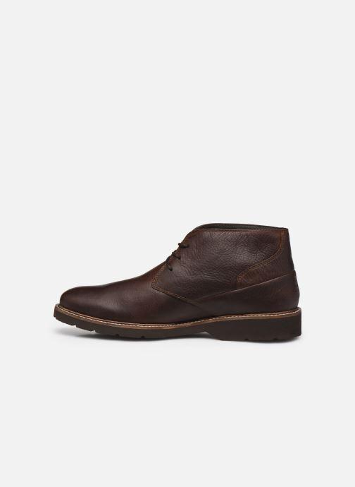 Zapatos con cordones TBS Paxfoam Marrón vista de frente