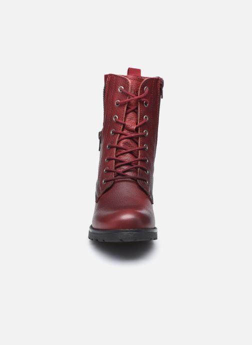 Bottines et boots TBS Peytone Bordeaux vue portées chaussures