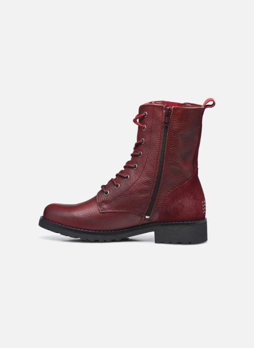 Bottines et boots TBS Peytone Bordeaux vue face