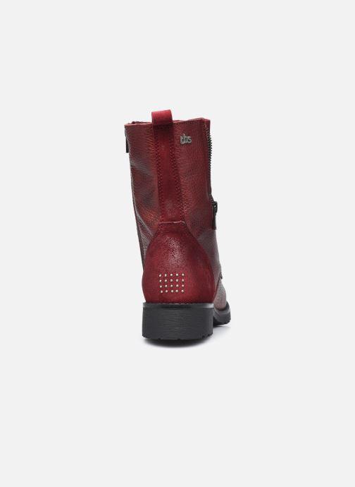 Bottines et boots TBS Peytone Bordeaux vue droite