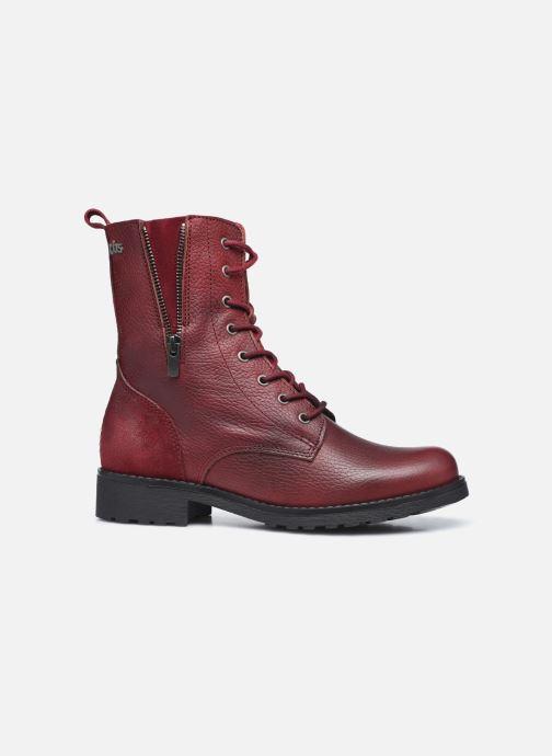 Bottines et boots TBS Peytone Bordeaux vue derrière