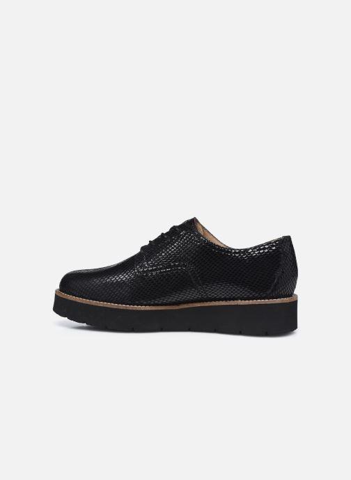 Chaussures à lacets TBS Cyliane Noir vue face