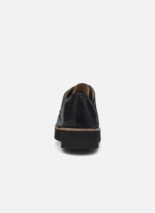 Chaussures à lacets TBS Cyliane Noir vue droite