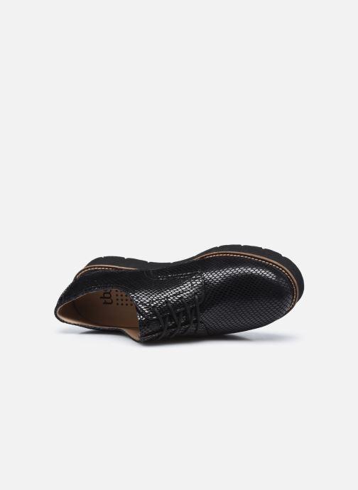 Chaussures à lacets TBS Cyliane Noir vue gauche