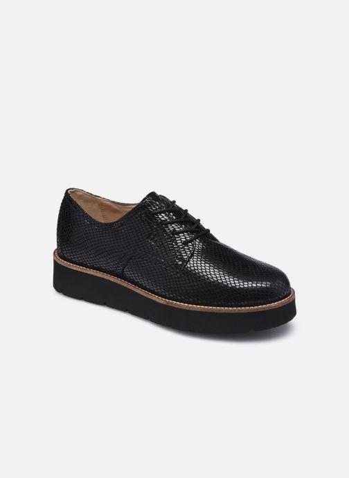 Chaussures à lacets TBS Cyliane Noir vue détail/paire